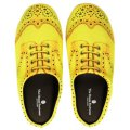 Room Shoes Wing Tip YELLOW L