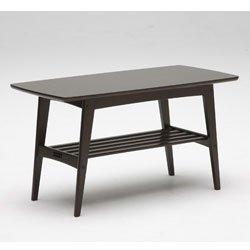 画像1: リビングテーブル 小 カフェブラウン