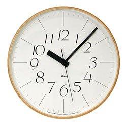 画像1: リキクロック電波時計(細文字タイプ)Lサイズ