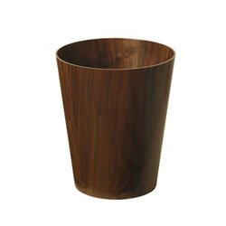 画像1: SAITO WOOD PAPER BASKET walnut M