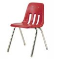VIRCO 9000 Chair CARMINE RED