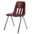 VIRCO 9000 Chair WINE