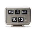 "Twemco Digital Calendar Clock #QD-35 ""Gray"""