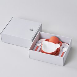 画像1: tak. ギフトボックス ベア カトラリー オレンジ