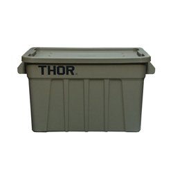 画像1: Thor Large Totes With Lid 75L Olive drab