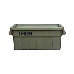 画像1: Thor Large Totes With Lid 53L Olive drab
