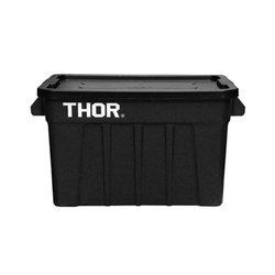 画像1: Thor Large Totes With Lid 75L Black