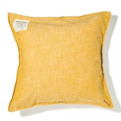 画像1: BasShu Cushion Cover Chambray YELLOW