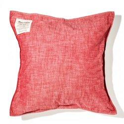 画像1: BasShu Cushion Cover Chambray RED