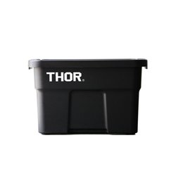 画像1: Thor Large Totes With Lid 22L Black