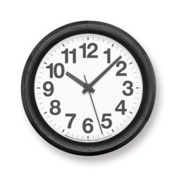 画像1: Lemnos Clock B Small ブラック