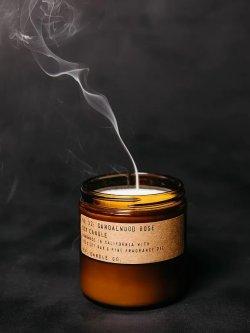 画像2: P.F. Candle Co. 7.2oz Soy Wax Candle SANDALWOOD ROSE