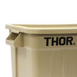画像2: Thor Large Totes With Lid 75L Coyote