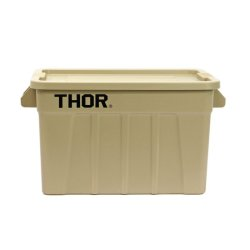 画像1: Thor Large Totes With Lid 75L Coyote