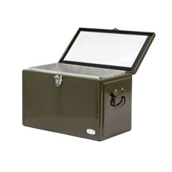 画像2: Metal Cooler Box Coyote