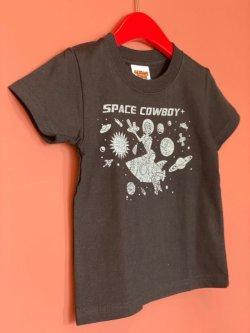 画像1: SPACECOWBOY+ ORIJINAL KIDS TEE BLACK